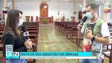 Religiosos em Uberaba fazem festa em louvor a São Sebastião - Padre fala sobre programação e celebrações na cidade.
