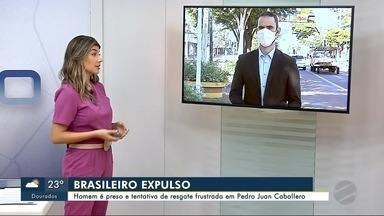 Chefe de grupo criminoso é expulso do Paraguai após tentativa frustada de resgate - Homem é preso e tentativa de resgate frustrada em PJC
