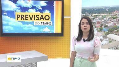 Aléxia Oliveira traz a previsão do tempo - Previsão é de chuva no começo da semana para todo o estado.