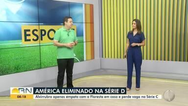 Augusto César Gomes comenta eliminação do América-RN na Série D - Augusto César Gomes comenta eliminação do América-RN na Série D