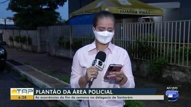 Plantão policial: confira as principais ocorrências na Delegacia de Santarém - Confira as informações da área policial com Cissa Loyola.