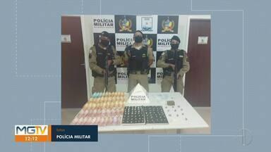 Idoso é preso com drogas em Várzea da Palma - Ele foi abordado após denúncias.