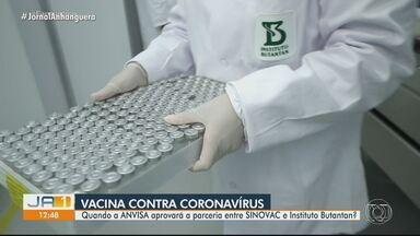 Secretário de Saúde fala sobre previsão de vacinação contra a Covid-19, em Goiás - Ismael Alexandrino explica quais serão os grupos prioritários e qual vacina virá para o estado inicialmente.