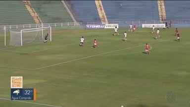Uberaba começa hexagonal da Segunda Divisão com vitória - Colorado venceu Poços de Caldas por 1 a 0 no Uberabão.