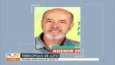 Vereador eleito de Teresópolis, Ademir Enfermeiro morre vítima da Covid-19 - Ele estava internado desde dezembro do ano passado com a doença.