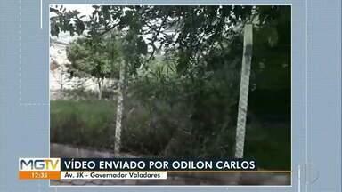 VC no MG1: morador denuncia abandono de área de lazer em Governador Valadares. - Confira.