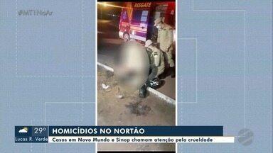Casos de violência são registrados no Nortão do estado - Casos de violência são registrados no Nortão do estado.