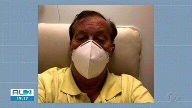 Presidente do CSA informou nas redes sociais que está com Covid-19 - Rafael Tenório está se recuperando da doença no Hospital Sírio Libanês.