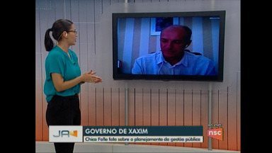 Prefeito de Xaxim fala sobre o planejamento da gestão pública - Prefeito de Xaxim fala sobre o planejamento da gestão pública