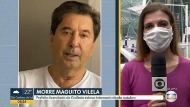 Morre Maguito Vilela, prefeito licenciado de Goiânia - Político do MDB faleceu aos 71 anos, vítima de complicações causadas pela covid-19.