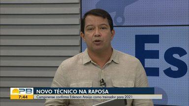 Kako Marques traz as notícias do esporte no Bom Dia Paraíba desta quarta-feira (13.01.21) - Fique bem informado, torcedor paraibano