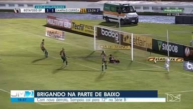 Sampaio perde nova partida e cai para 12º na Série B - Derrota desta vez foi para o Botafogo-SP.