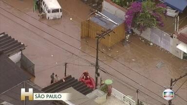 Temporal alaga bairros da zona norte de São Paulo - Veja também: as mudanças na matriz energética até 2025. O quanto eólicas e solares vão crescer.