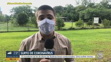 Asilo tem surto de Covid-19 em Teutônia; 13 moradores testaram positivo para a doença - Assista ao vídeo.