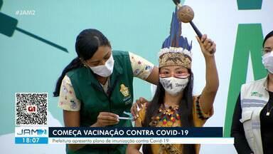 Começa vacinação contra Covid-19 no Amazonas - Prefeitura apresenta plano de imunização