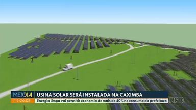 Usina solar será instalada no antigo Aterro da Caximba - Energia limpa vai permitir economia de mais de 40% no consumo da prefeitura de Curitiba.