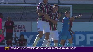 Fluminense vence o Flamengo e vai à final da Copa do Brasil sub-17 - Fluminense vence o Flamengo e vai à final da Copa do Brasil sub-17