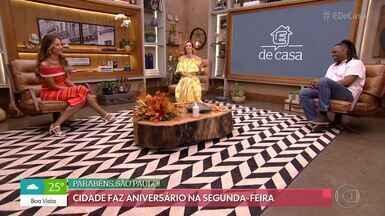 Programa de 23/01/2021 - Manoel Soares, Ana Furtado, Patrícia Poeta e Cissa Guimarães comandam a manhã de sábado na Globo, a atração conta ainda com Gaby Amarantos no quadro 'Tempero de Família', de Rodrigo Hilbert