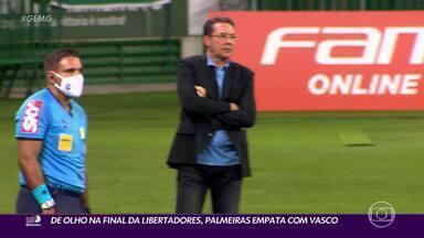 No duelo entre Palmeiras e Vasco, Luxemburgo sorri por último com empate em São Paulo - No duelo entre Palmeiras e Vasco, Luxemburgo sorri por último com empate em São Paulo