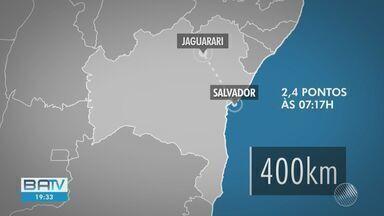 Tremor de terra é registrado em cidade no norte da BA; não há registro de vítimas ou danos - Este é o terceiro tremor registrado no intervalo de uma semana.