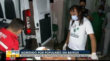 Homem é preso suspeito de sequestrar e estuprar adolescente, em João Pessoa - Adolescente tinha necessidades especiais