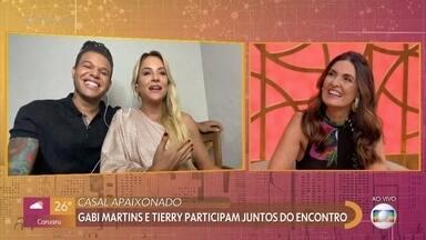 Programa de 29/01/2021 - A apresentadora Fátima Bernardes comanda o programa que mistura comportamento, prestação de serviço, informação, música, entretenimento e muita diversão.