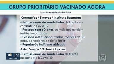 Entenda quem está no grupo prioritário de vacinação contra a Covid-19 em Belo Horizonte - Mesmo sendo de grupos de risco, ninguém pode ir ao posto de saúde antes de ser convocado.