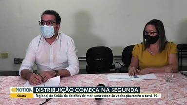 SRS de Governador Valadares fala sobre a distribuição de vacinas contra a Covid-19 - Confira.