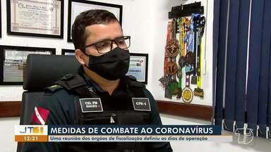 Órgãos de segurança traçam diretrizes para atuar em Santarém - Uma reunião dos orgãos de fiscalização definiu ações para operação.
