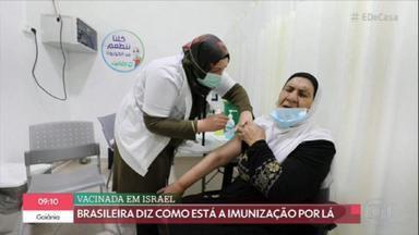 Israel já sente os efeitos positivos da vacinação contra a Covid-19 - País já vacinou mais da metade de sua população. A internação de idosos já caiu 60% após a aplicação da segunda dose da vacina.
