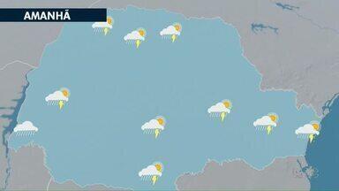 Veja como fica a previsão do tempo para os Campos Gerais neste domingo (31) - Último dia de janeiro deve ser chuvoso em Ponta Grossa e região.