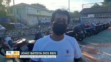 Volta Redonda fiscaliza circulação de veículos irregulares - Guarda Municipal já retirou 42 motos irregulares e barulhentas das ruas.