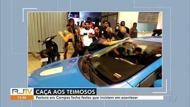 Fiscalização em Campos notifica bares e festas clandestinas em meio à pandemia - Secretaria de Posturas atua para tentar diminuir o número de casos de Covid-19.