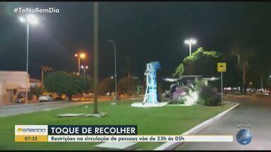 'Toque de recolher' noturno decretado pela prefeitura de Paulo Afonso entra em vigor - Medida foi adotada como forma de prevenir o coronavírus e segue até o dia 12 de fevereiro.