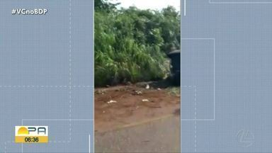 Uma pessoa morre em grave acidente na PA-272, no sudeste do Pará - Uma pessoa morre em grave acidente na PA-272, no sudeste do Pará