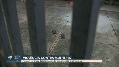 Homem acusado por agredir a ex-namorada e a família dela é preso em Campinas - Polícia Militar chegou ao local e o suspeito foi preso em flagrante.