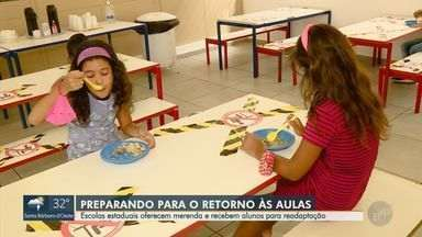 Escolas estaduais recebem merenda para estudantes das regiões de Campinas e Piracicaba - São mais de 300 unidades escolares que receberam os produtos nesta segunda-feira (1º).