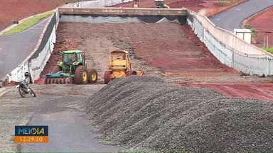 Prazo para entrega das obras na PR-445 é prorrogado - DER informou que deve entregar a obra em 20 dias.