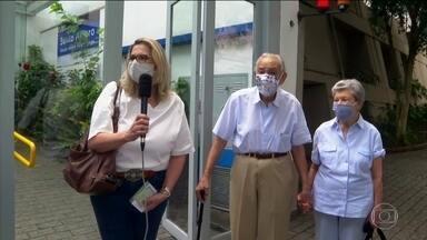 Cidade de SP antecipa vacinação contra Covid-19 de idosos com mais de 90 anos - A imunização começou nesta sexta-feira (5).