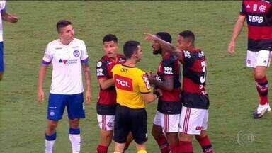 Polícia Civil indicia Ramírez, do Bahia, por injúria racial contra Gerson, do Flamengo - Inquérito segue para o Ministério Público, que vai decidir se apresenta denúncia.