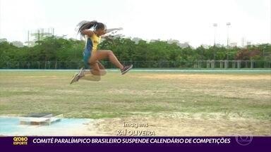Suspensão do calendário de competições afeta atletas paralímpicos pernambucanos - Muitos atletas do estado ainda buscam índices para jogos de Tóquio