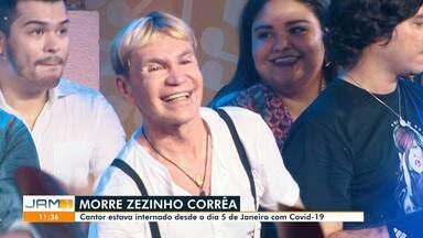 Zezinho Corrêa ganhou projeção mundial à frente do grupo Carrapicho; relembre - Cantor morreu neste sábado.