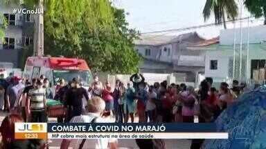 MPPA cobra na justiça reabertura do hospital de campanha de Breves, no Marajó - MPPA cobra na justiça reabertura do hospital de campanha de Breves, no Marajó