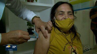 Petrolina já imunizou mais de 5 mil pessoas contra a Covid-19 - Os vacinados compõem os grupos prioritários