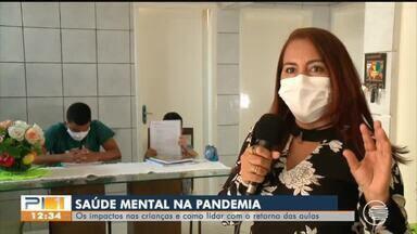 Especialista fala sobre impactos da pandemia na saúde mental de crianças e adolescentes - Especialista fala sobre impactos da pandemia na saúde mental de crianças e adolescentes