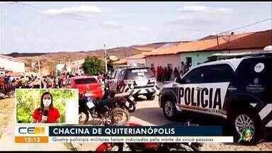 PMs indiciados em Quiterianópolis; arrastão em salão de beleza de Juazeiro do Norte - Saiba mais em: g1.com.br/ce