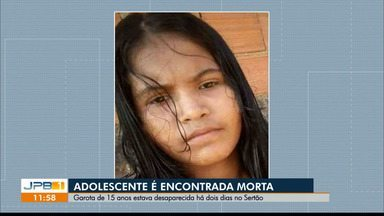 Adolescente de 15 anos é encontrada morta em zona rural, no Sertão da Paraíba - Ela estava desaparecida desde a última quarta-feira (3) e corpo já foi encontrado em decomposição