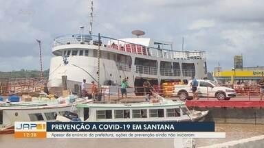 Covid: Apesar de anunciadas, ações de prevenção não iniciaram em portos de Santana, no AP - Covid: Apesar de anunciadas, ações de prevenção não iniciaram em portos de Santana, no AP