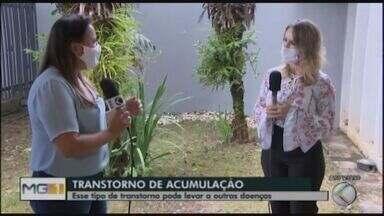 Psiquiatra Ana Cláudia Melo fala sobre transtorno de acumulação - A psiquiatra Ana Cláudia Melo explica o que é esse transtorno, as causas e como ele deve ser tratado. Segundo a especialista, é um transtorno que acomete a maioria da população.