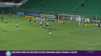 Goiás visita o Bahia em jogo decisivo na luta pela permanência na Série A - Após vencer o Atlético-MG, Verdão faz confronto direto em Salvador.